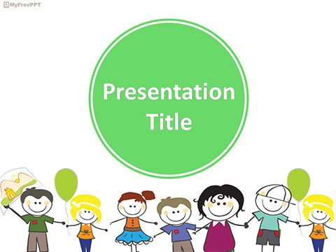 Friends Powerpoint Template  Kantoor Idees    Template