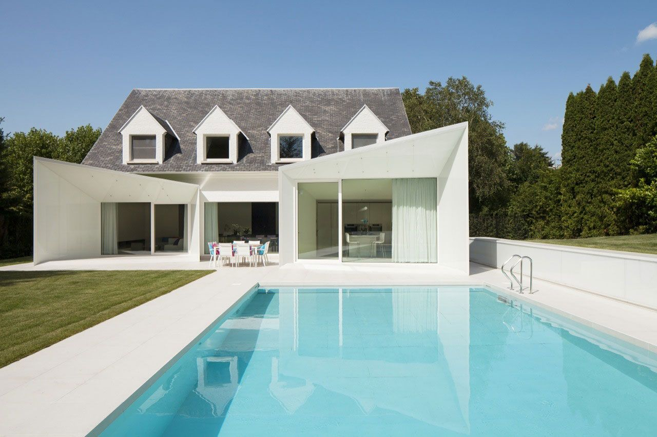 House LS by dmvA | home | Pinterest | House, Architecture and Façades