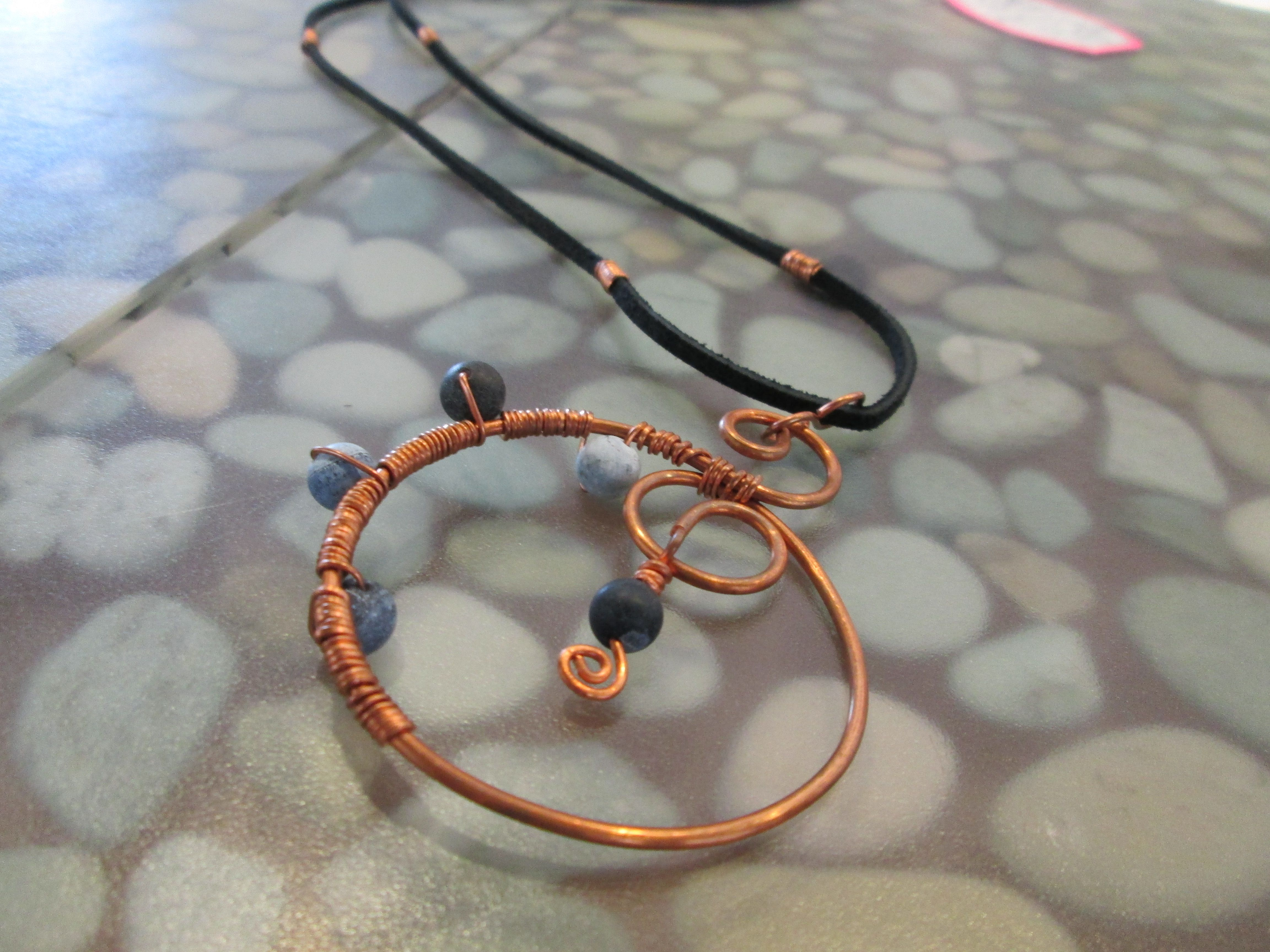Jewelry by Lee Ann St. Clair of Moses Lake, Washington.