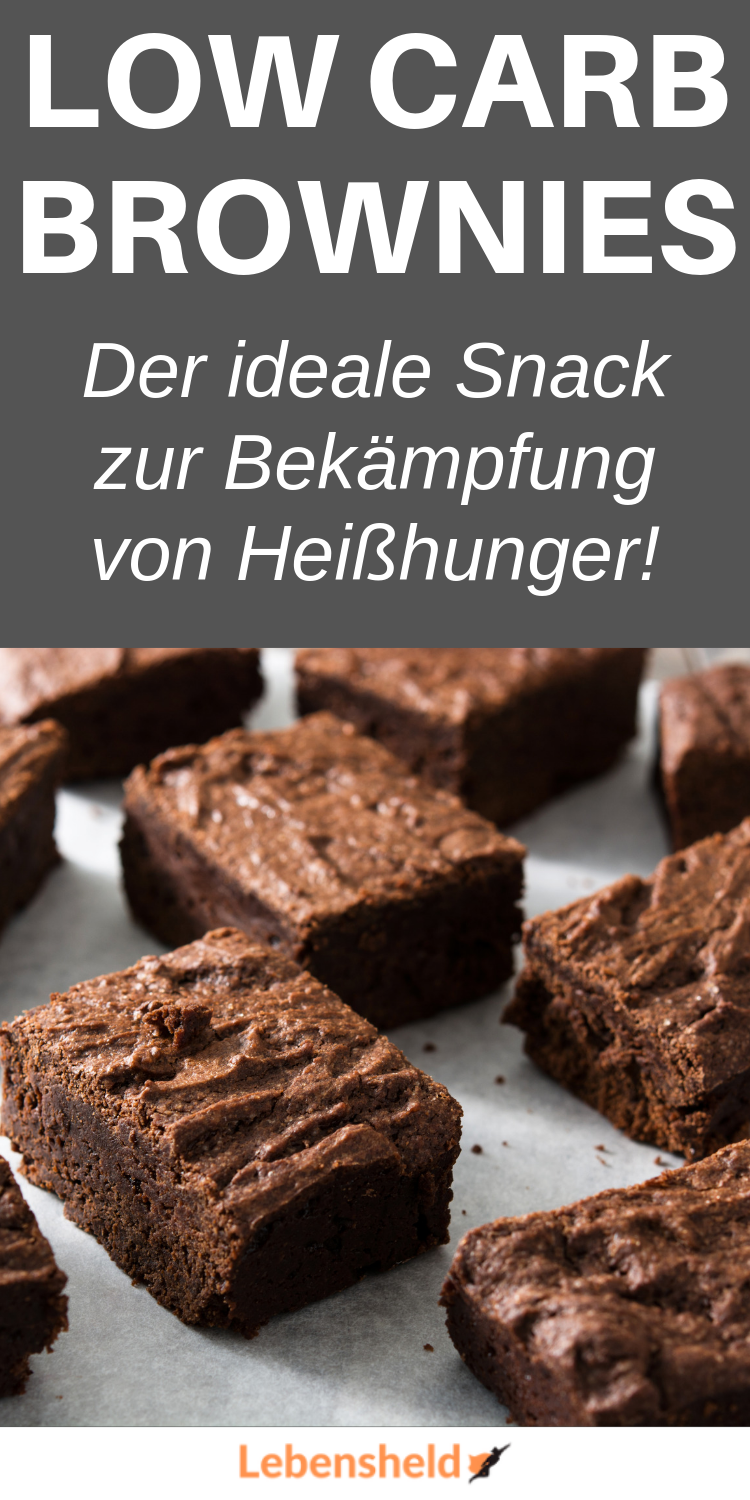 Low Carb Schoko Brownies [Nur 20 Minuten] - Low Carb Held