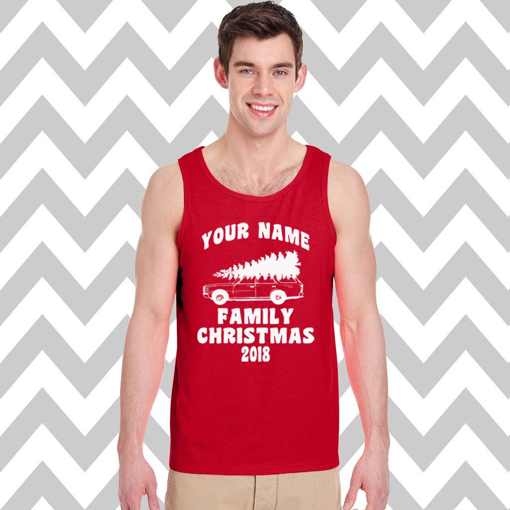 Funny Christmas Tank Tops.Custom Griswold Family Christmas Men S Tank Top Ugly Christmas Tank