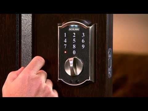 How To Add And Remove Access Codes With The Schlage Sensetm App Access Codes Allow Operation Of The Lock From The Touchsc Schlage Deadbolt Bottle Opener Wall