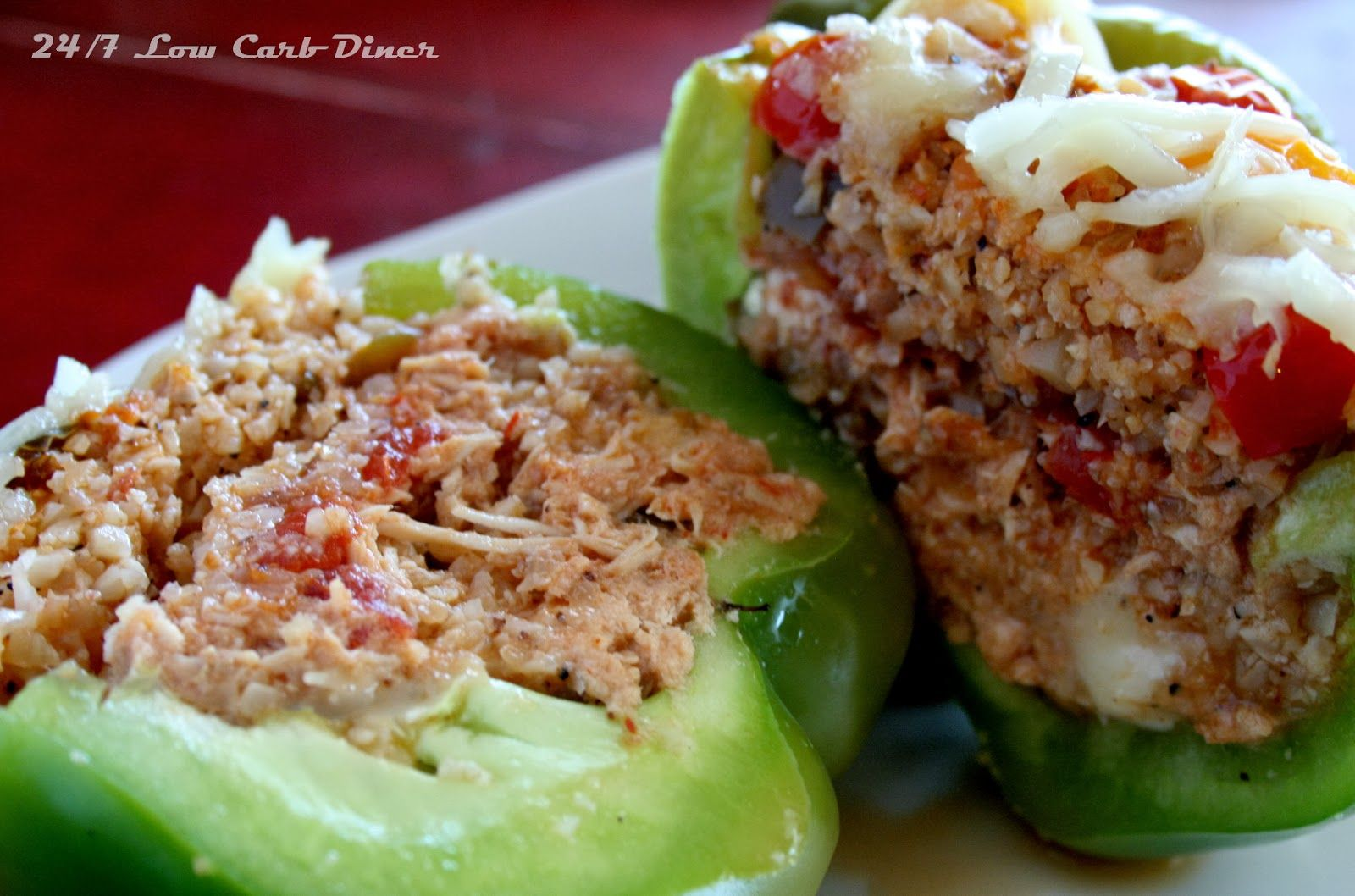 24/7 Low Carb Diner: Peppers Monterey - Keto / low carb