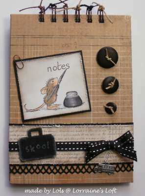 """Notebook"" by Lorraine Aquilina on House-Mouse Designs"
