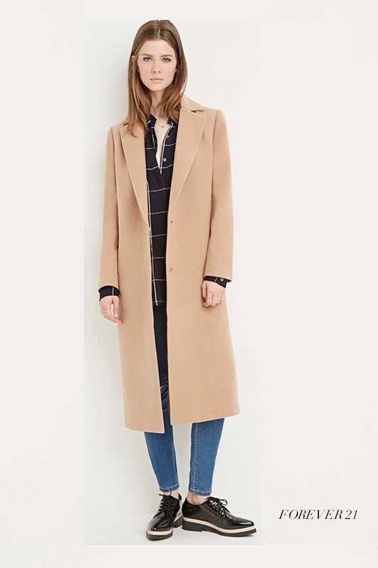 駝色大衣,是這一季必買的超搶手大衣!