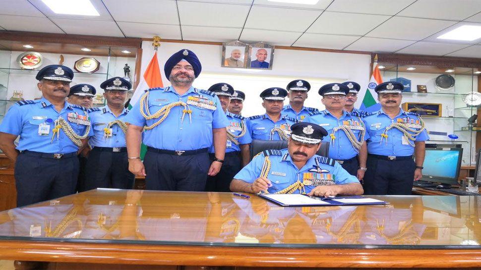 राकेश भदौरिया वायुसेना प्रमुख Air marshal, Indian air