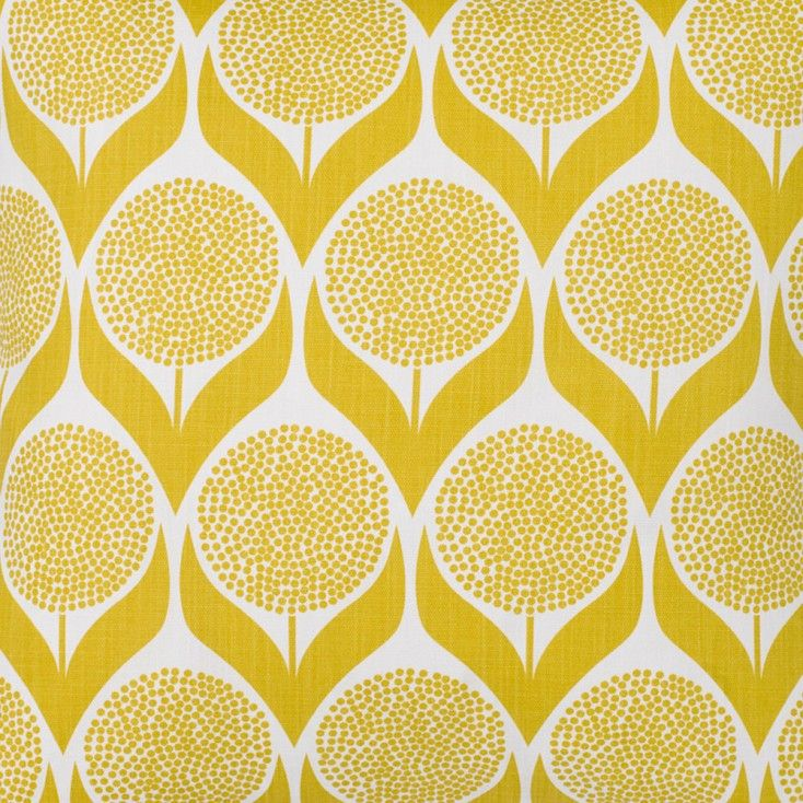 Gorgeous Scandinavian Fabrics For Curtains Blinds Cushions And More Available From Hus Hem Including T Scandinavian Fabric Yellow Cushions Yellow Curtains
