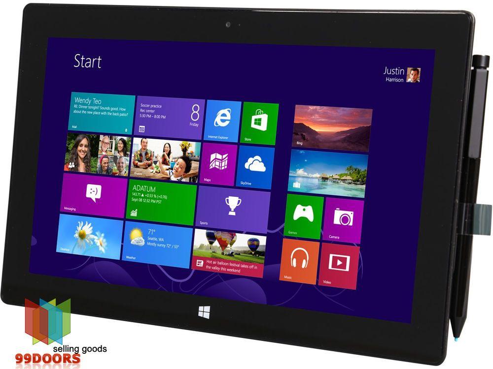 Microsoft Surface Pro Intel Core i5 4 GB DDR3 Memory 128 GB