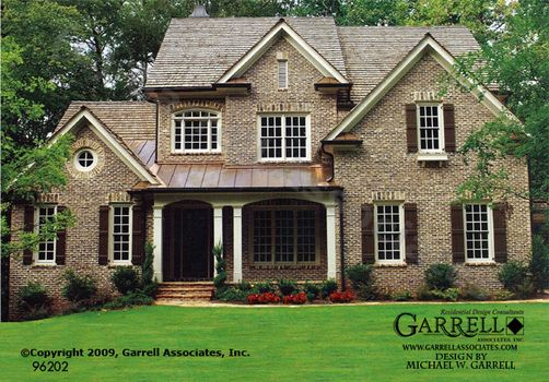 Vinings house plan house plans by garrell associates for Brick country house plans