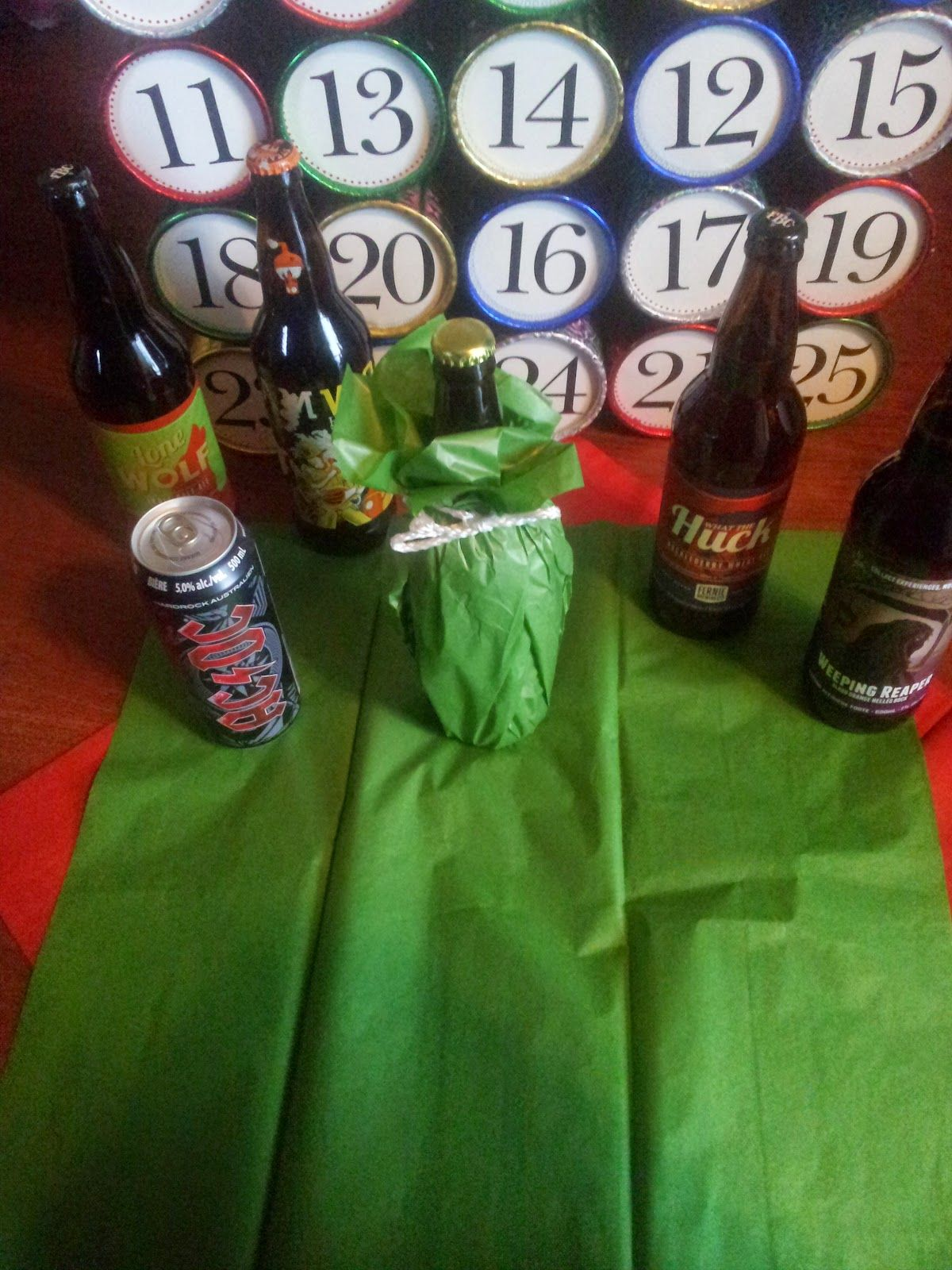 DIY Craft Beer Advent Calendar DIY Craft