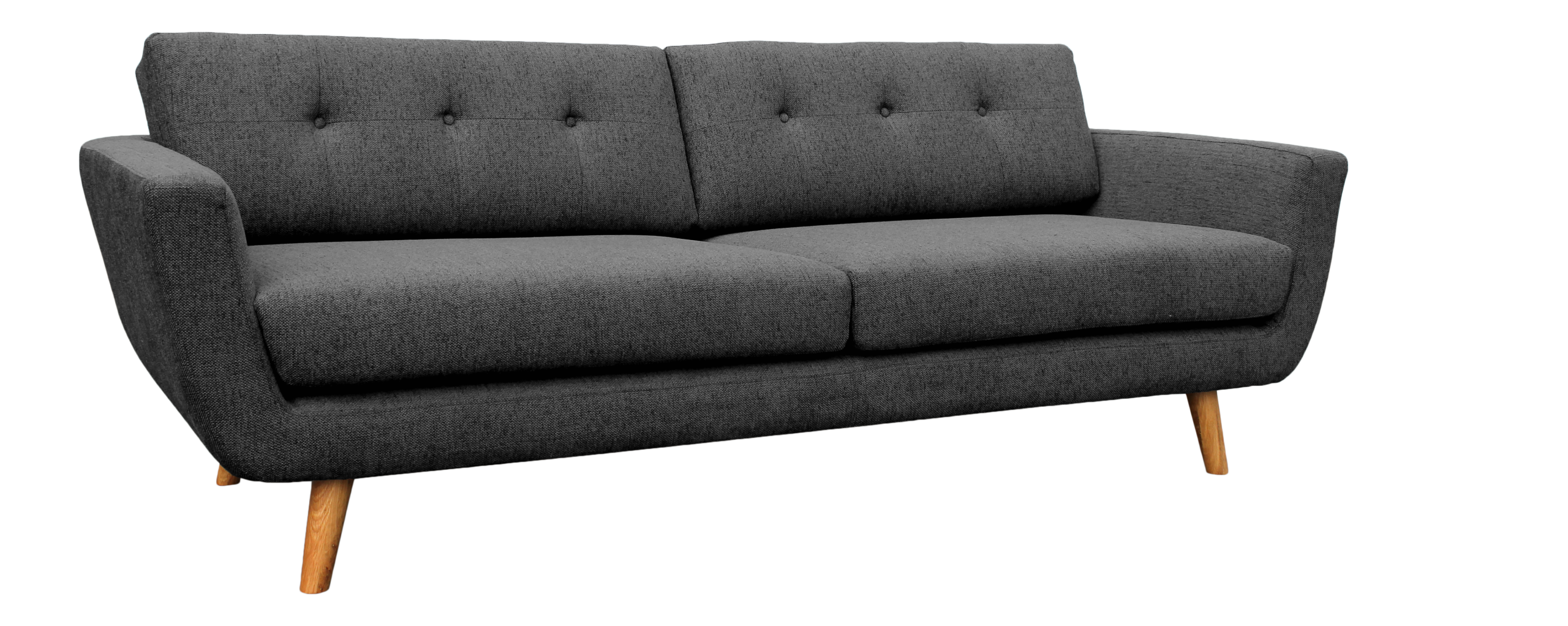 Bayam 3 Sitzer Sofa Aus Stoff
