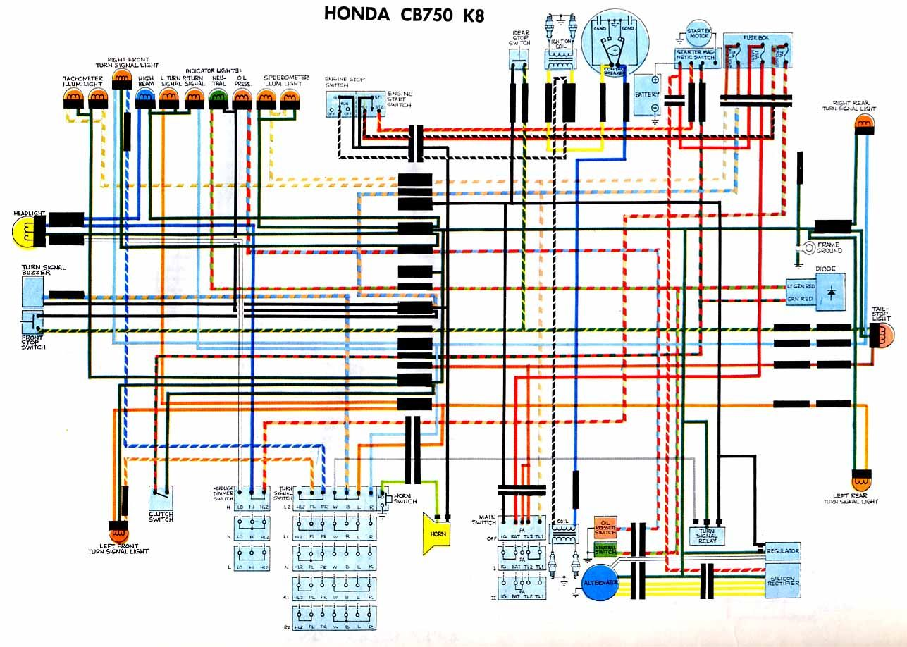 15 Simple Wiring Diagram Of Motorcycle Honda Xrm 125 Technique Https Bacamajalah Com 15 Simple Wiring D Honda Motorcycles Electrical Wiring Diagram Diagram