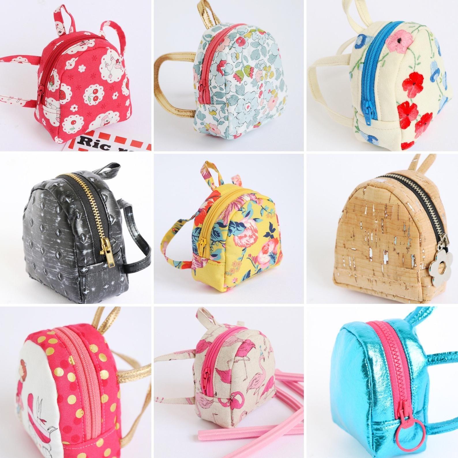 Doll Backpack Mini Backpack Pattern Digital Download Backpack