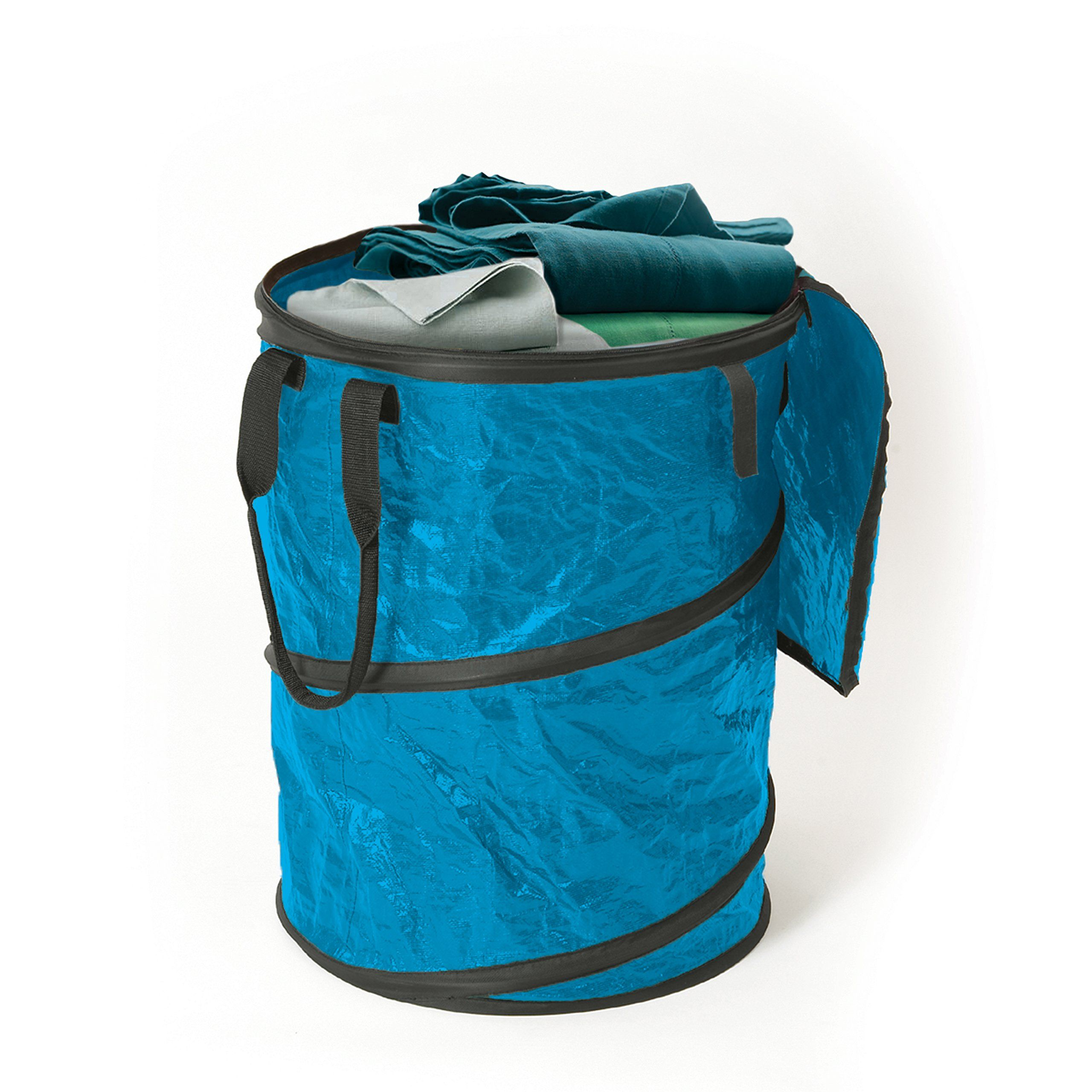 Stansport Collapsible Campsite Carryall Trash Can Blue See This Great Product It Is Amazon Affiliate Link Campingac Camping Accessories Trash Can Trash