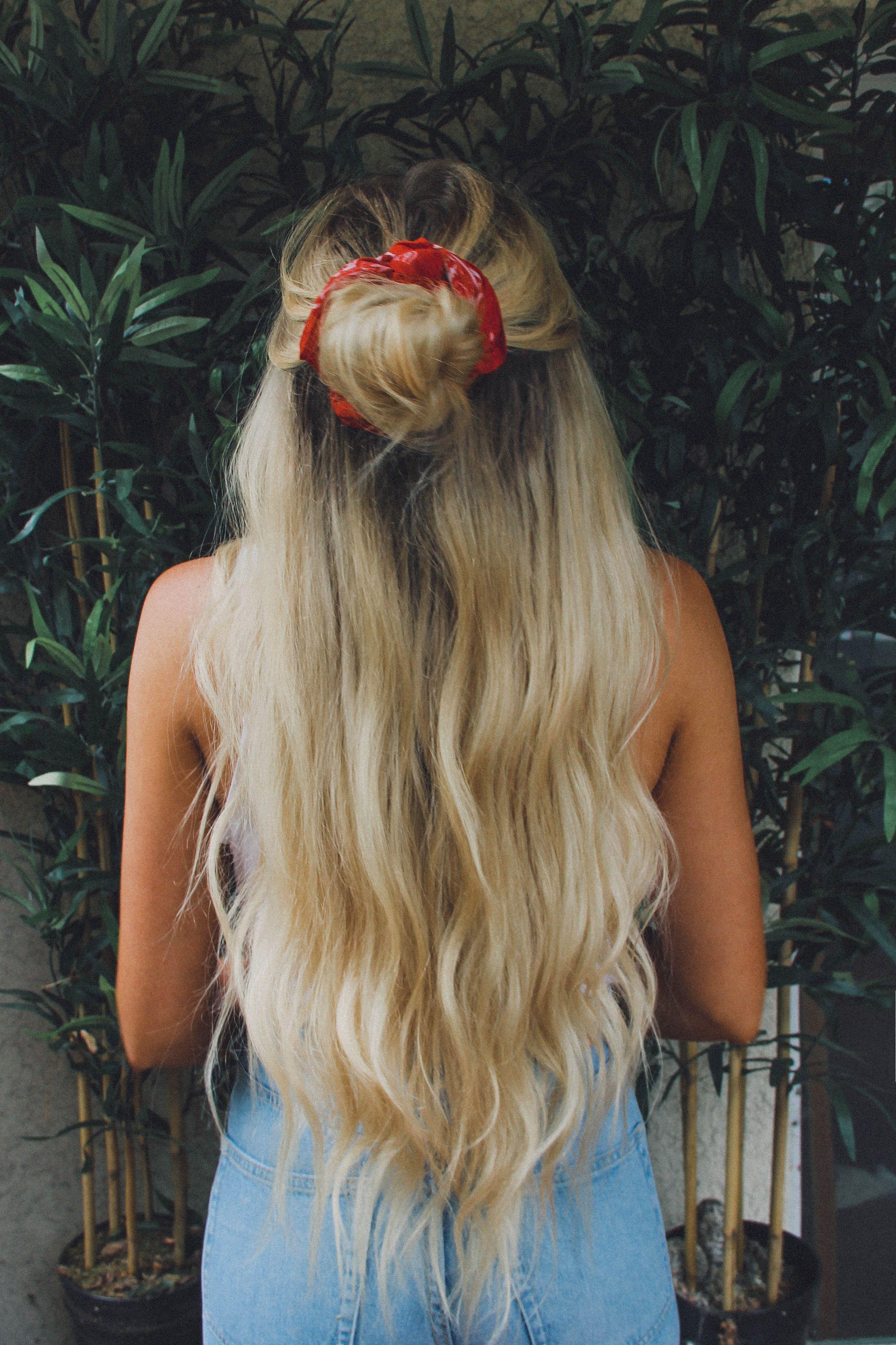 Ways To Style Hair With Bandana