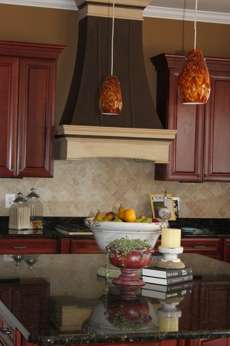 Custom Kitchen Stove Hoods | Repinned via Heidi Schuricht-Kraus ...