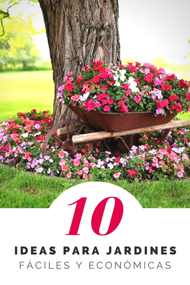 Ideas originales para decorar jardines  Decoracin de