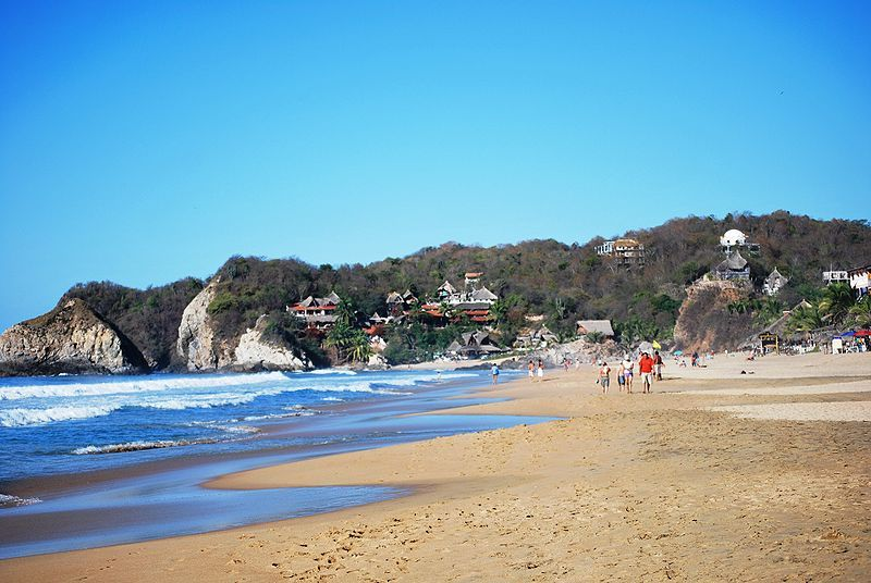 Zipolite Beach Oaxaca, Mexico - Nude Beach - Been There -8270