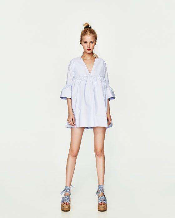 VESTIDO MONO VOLANTE MANGA   vestidos   Jumpsuit dress, Dresses ... 00a88c2e8032