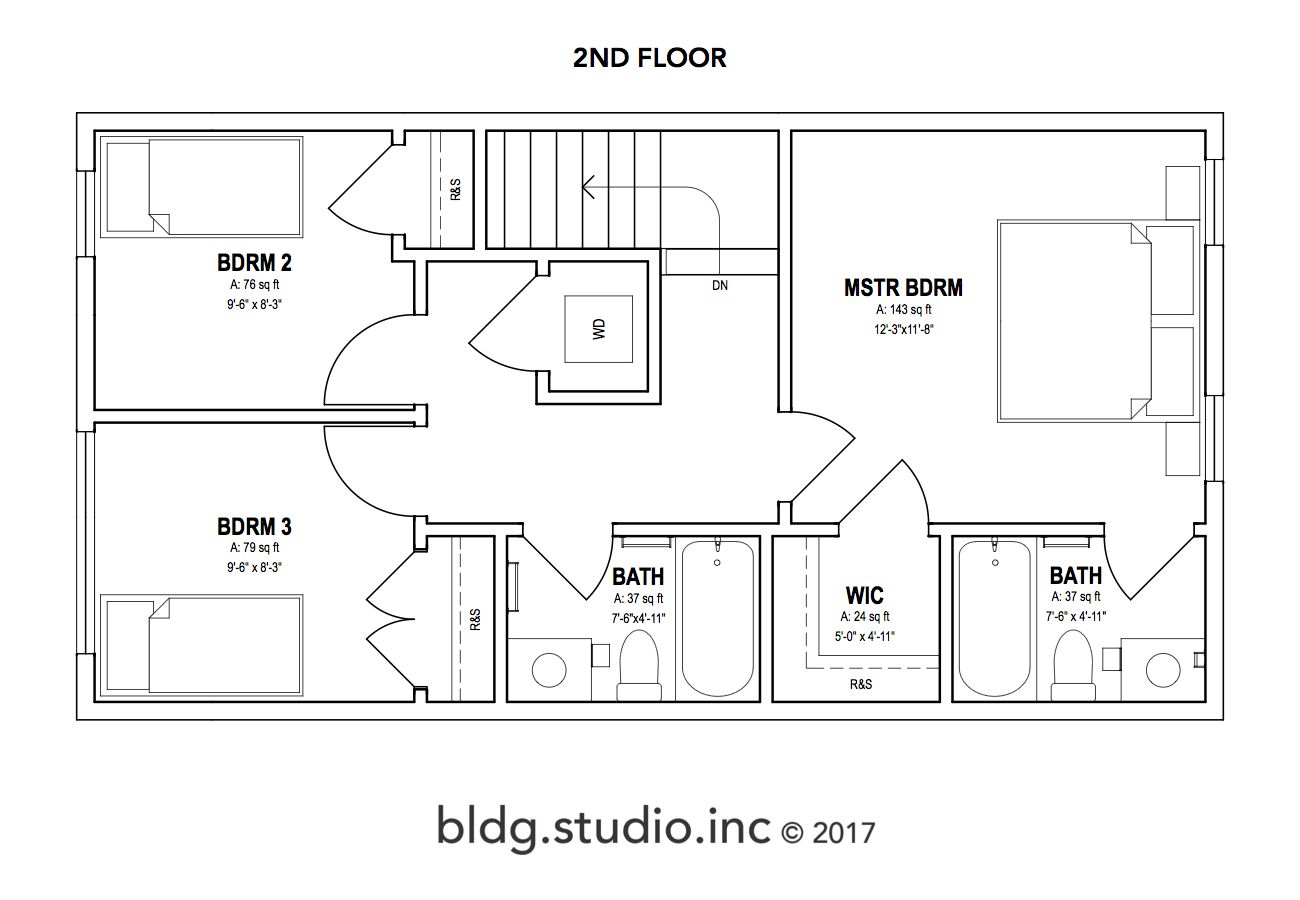 PLAN 2 122 PITCH — bldg.studio.inc. Small floor