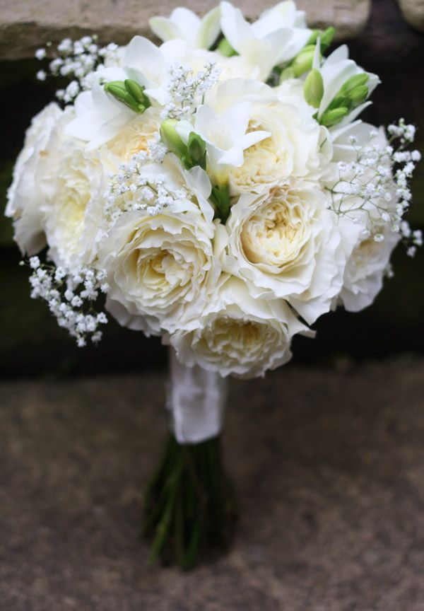 Flower White Wedding Flowers English Roses