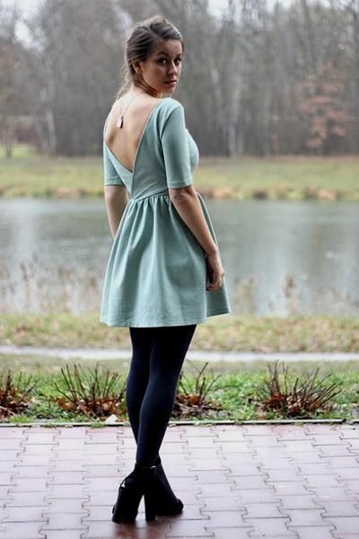 Light Blue Zara Dress How To Wear And Where To Buy Chictopia