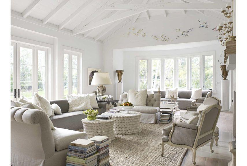 An Open Casual California Home French Living Rooms French Country Living Room French Living Room Decor