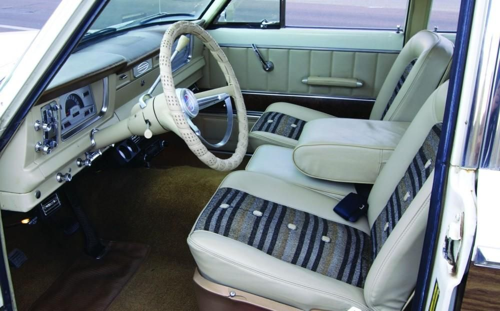 Wagoneer Interior Custom