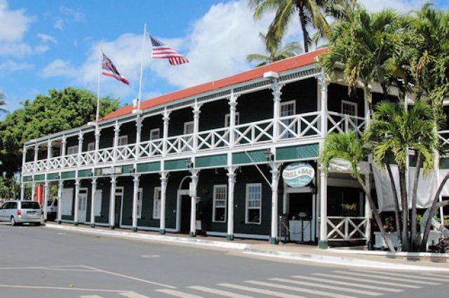 Lahaina Maui Best Western Pioneer Inn In Historic