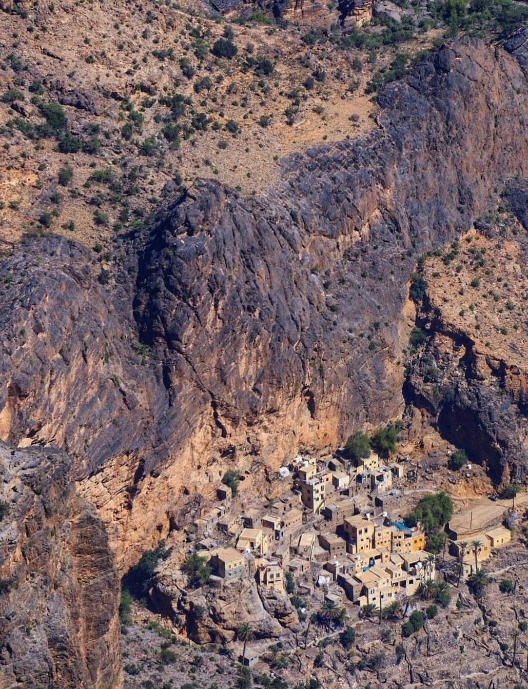 Wajma Village Al Rustaq Oman Oman Natural Landmarks Village
