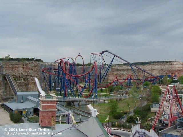 This Was My First Looping Roller Coaster Ever And Is To This Day My Favorite Of All Time Superman Krypton Theme Parks Rides Fun Places To Go Roller Coaster
