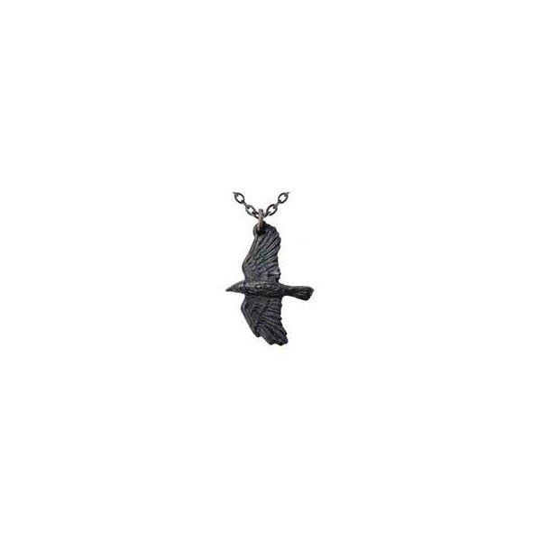 Ravenine Pendant via Polyvore featuring jewelry, pendants, pendant jewelry and charm pendant
