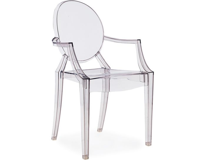 Louis Ghost Chair Designed By Philippe Starck, 2002 $410