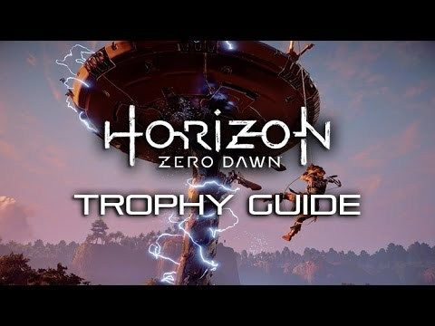 horizon zero dawn trophies