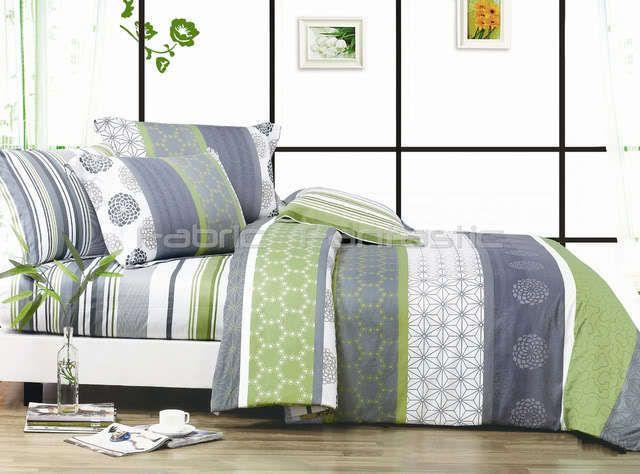 100/% Cotton Geometric Doona Duvet Quilt Cover Set King//Queen//Double Size Bedding