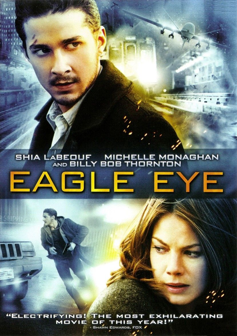"Shia LaBeouf & Michelle Monaghan in ""Eagle Eye"" Shia"