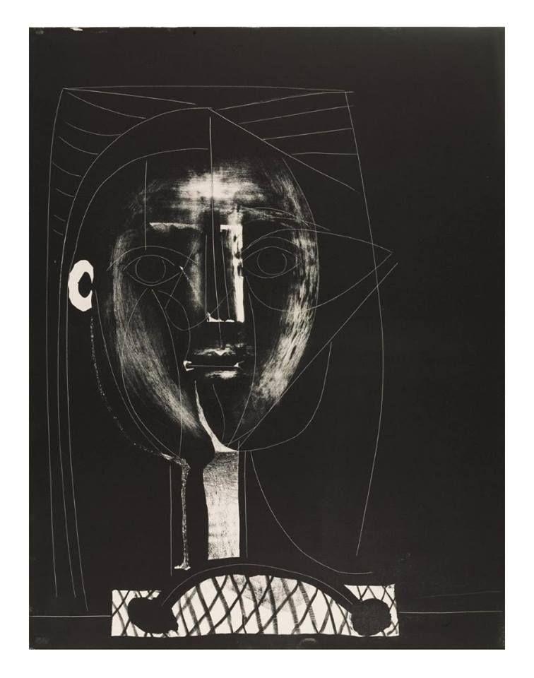 Pablo Picasso. Black Figure, 1948 Art / Ideas️ :More At FOSTERGINGER At Pinterest