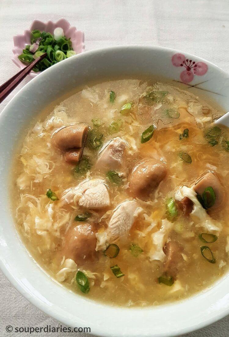 Chicken Egg Drop Soup Recipe Souper Diaries Recipe Soup Recipes Egg Drop Soup Chinese Soup Recipes