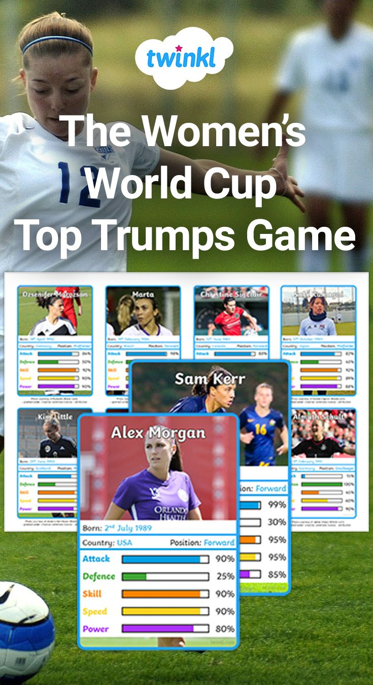 Give these fun top trump cards to your class as part of