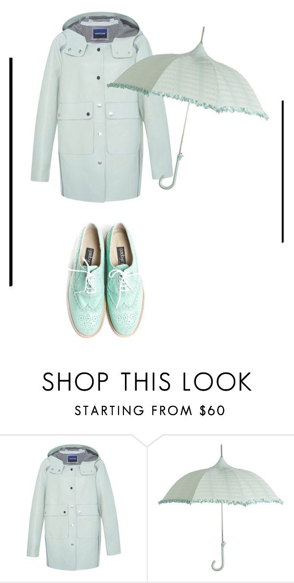 """""""mint green look"""" by blahblahrafa ❤ liked on Polyvore"""