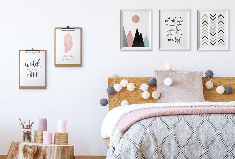 Diy Bedroom Wall Decorating Ideas Pinterest Wall Decor Bedroom Bedroom Diy Diy Room Decor