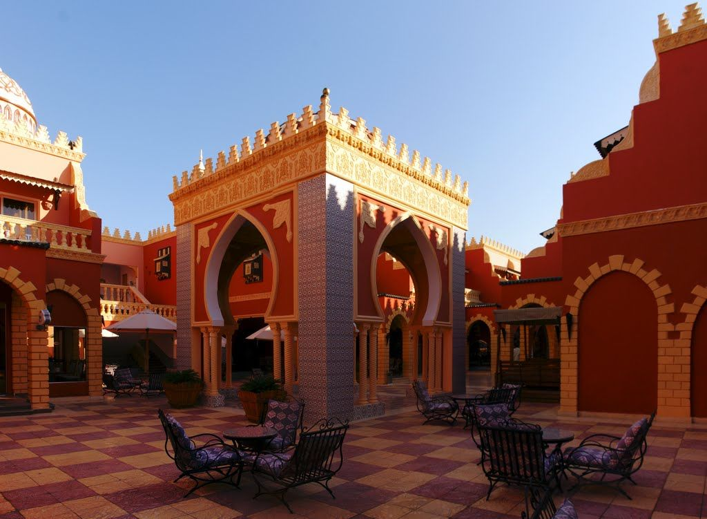Inside Hotel **** Alfleilewaleila (Pick Albatros Group), Hurghada/ Egypt