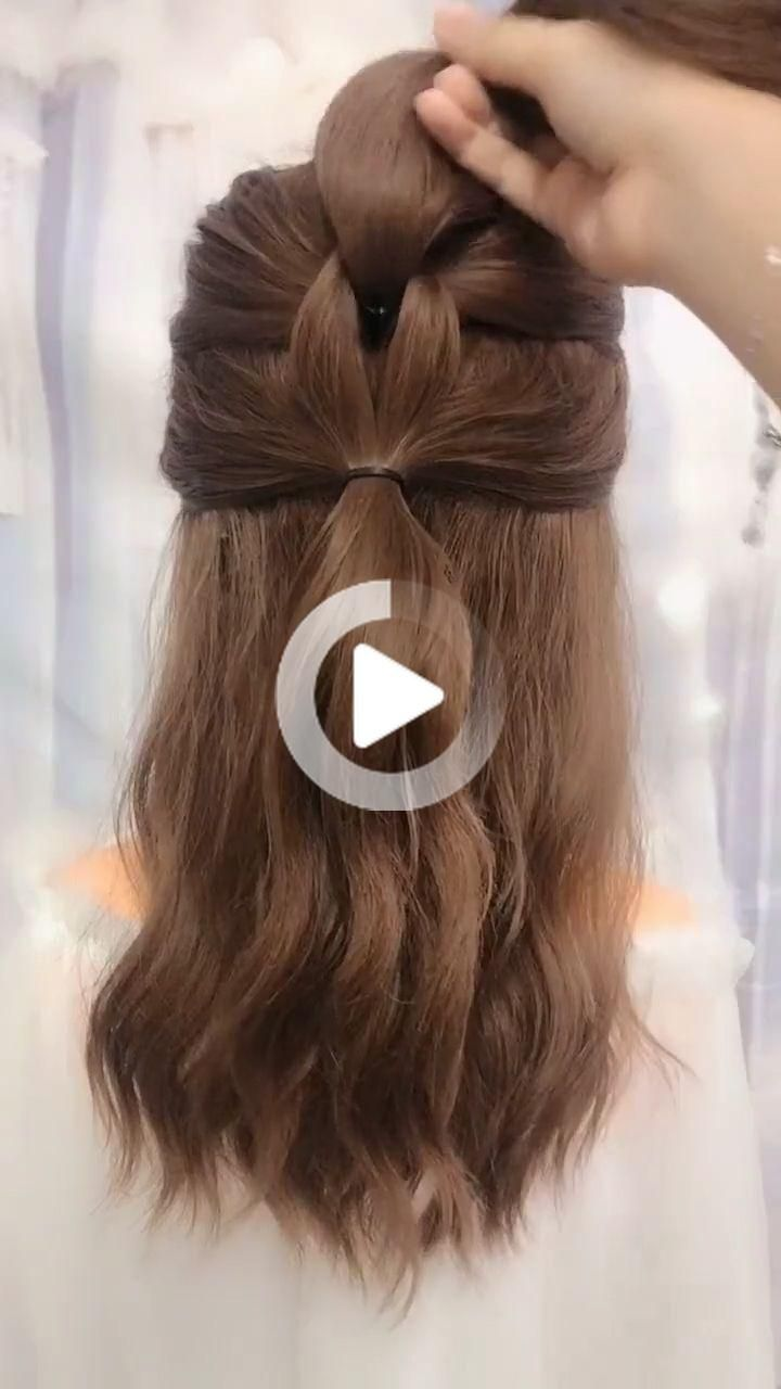 Simple and best hairstyle for long hair in 2020 | Long ...