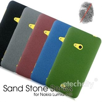 Sand Stone Series Anti-Fingerprint #PC Case for #Nokia Lumia 625 [PCAF-NKLM625] - $15.00