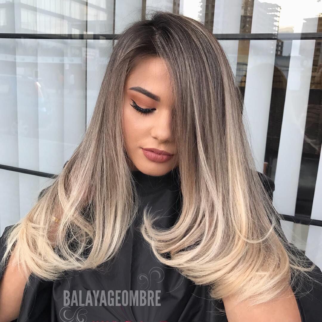 Love The Two Colors Combination Balayageombre