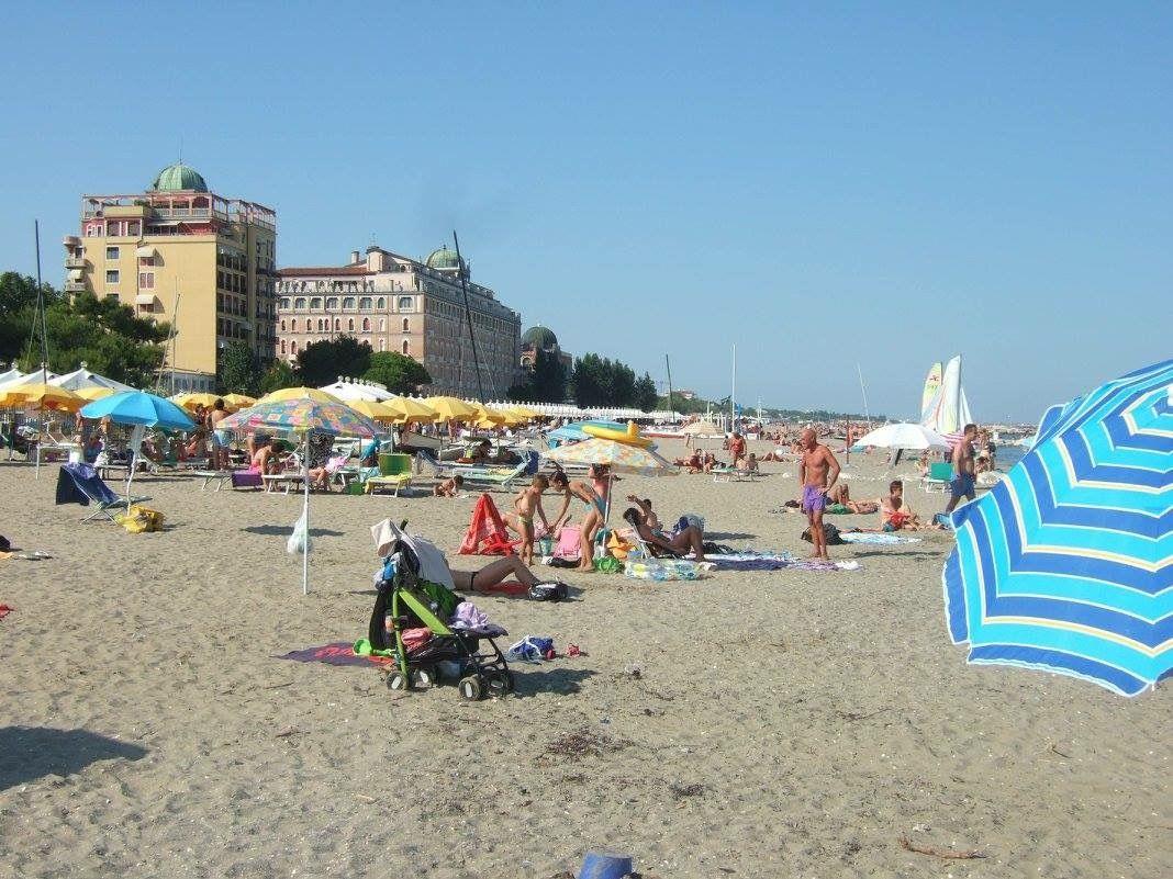 The Lido Beach In Venice Italy City