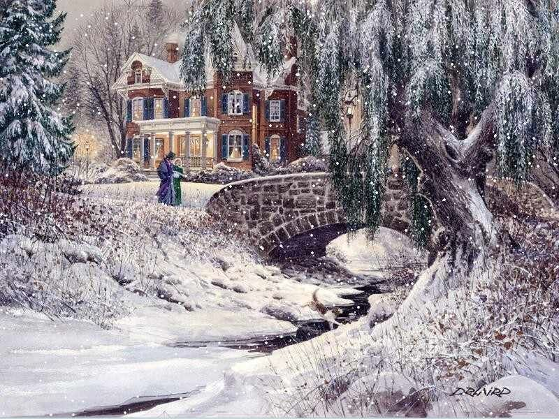 Winter Victorian Style