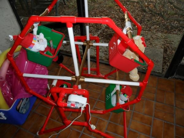 Plans For A PVC Ferris Wheel