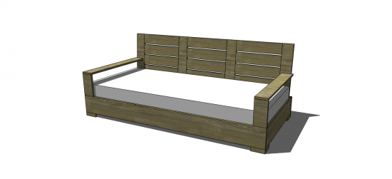 Free Diy Furniture Plans To Build An Indoor Outdoor Belvedere Large Sofa The Design Confidential