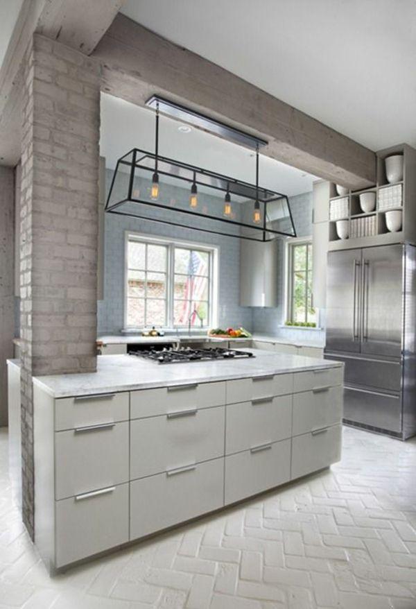 50 Wohnungsgestaltung Ideen Für Ein Modernes Und Gemütliches Zuhause. Moderne  KücheBauernhausBodenbelagWenn ...